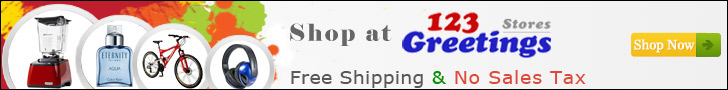 Free Shipping, No Sales Tax and Lowest Price Guarantee at 123Greetings Store