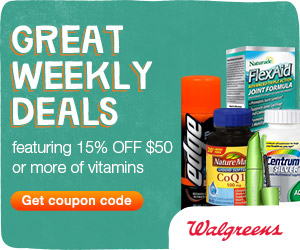 (1/13 - 1/19) 15% off Vitamin orders of $50+