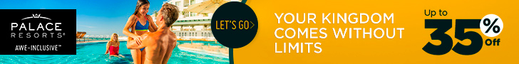 Warm up your winter with 2 for 1 savings to enjoy at Palace Resorts.