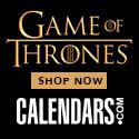 Shop Game of Thrones at Calendars.com Now!