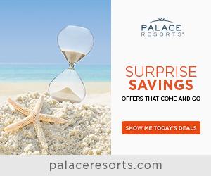 30% off at Palace Resorts.