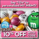 Promote your business with personalized M&M'S®.