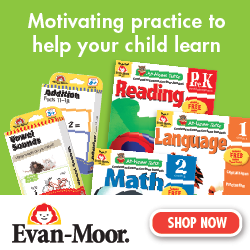 Evan-Moor parent resources