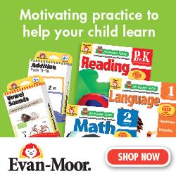 Evan-Moor parent resources