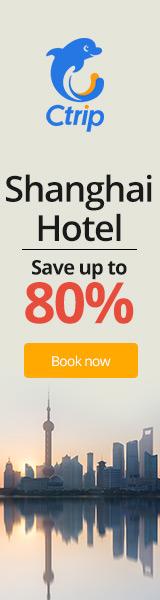 Ctrip Shanghai Hotels 80% Off