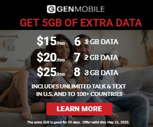 Image for Get an extra 5GB of data free
