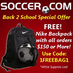 Soccer.com - Back to School Special Offer