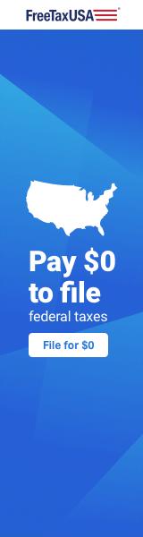 FreeTaxUSA Box 160x600