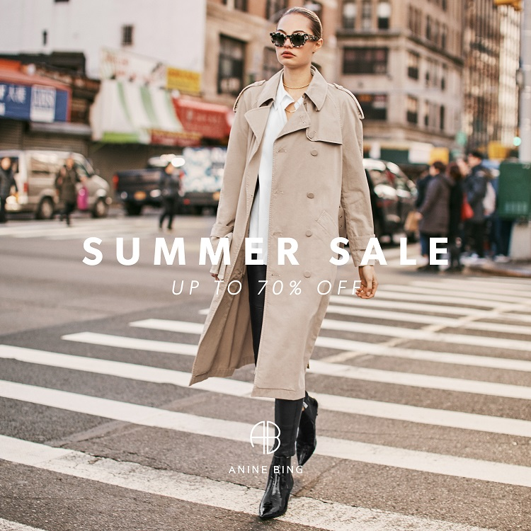 Shop ANINE BING Sale up to 70% off. Free shipping worldwide.