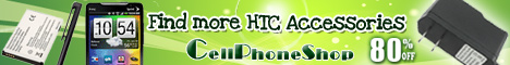 HTC accessories 80% off