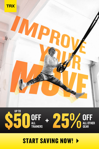 TRX Improve Your Move Sale