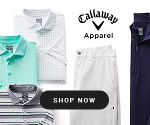 Callaway Apparel - New Arrivals 300x250