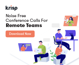 Noise Free Conference Calls For Remote Teams
