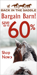 Bargain Barn 60% Off at Back In The Saddle