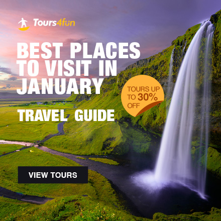 Best Places to Visit in January - Tours up to 30% Off