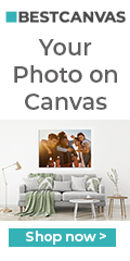 your photo on canvas