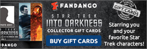 Star Trek Into Darkness Collector Gift Cards