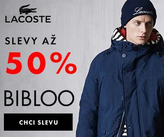 50% Lacoste