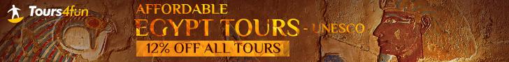 Affordable Egypt Tours: UNESCO Egypt Tours on Sale