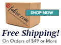 Fabric.com Free Shipping on orders $35+