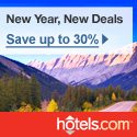 Save up to 30% during the hotels.com Holiday Sale!