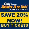Ripley's Believe it or Not! NY Times Square