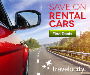 Travelocity Save on car rentals