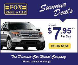 Summer Deals: Rentals as Low as $7.95/Day