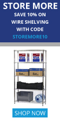 120x240 Store More 10% OFF Coupon