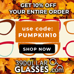 Get 10% off your entire order! use code:PUMPKIN10