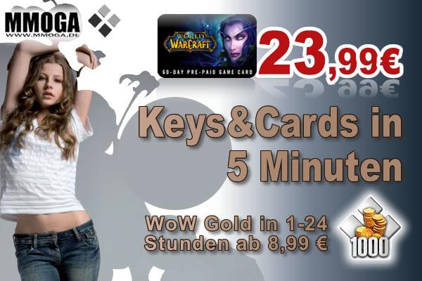 WoW Gold und Keys