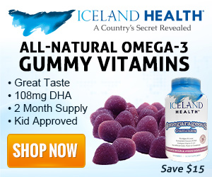 All-Natural Omega-3 Gummy Vitamins with 108mg DHA