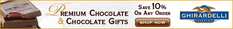 Save 10% on Ghirardelli Chocolate Gifts