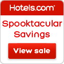 Spooktacular Savings - Treat yourself to something sweet: Save up to 30%! Book by 10/31/14, Travel b