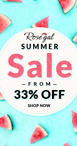 Summer Sale: From 33% OFF and FREE SHIPPING