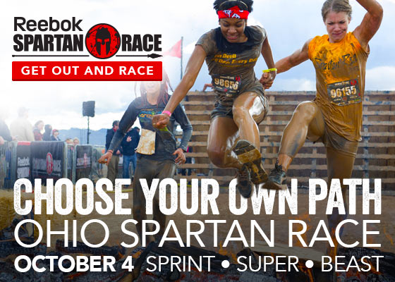 Ohio Spartan Race Weekend - Spartan Sprint, Super, and Beast! October 4, 2014, Sign Up Today!