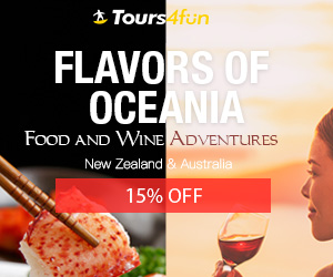 Image for Flavors of Oceania - Food and Wine Adventures: Get up to 15% off tours