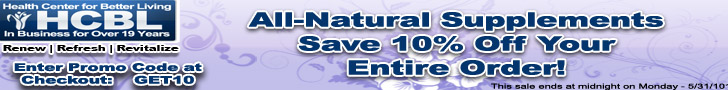 HCBL 10% OFF Promotion Code