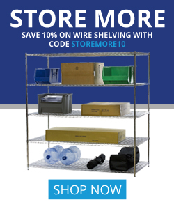 Shelving Inc. - 250×300 Store More 10% OFF Coupon