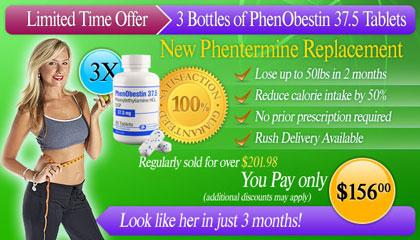 Buy cheap PhenObestin 37.5mg