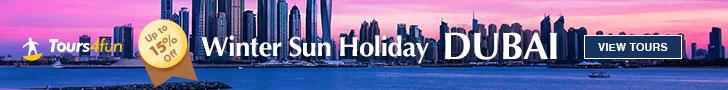 Dubai Tours & Activities: Tours 15% off