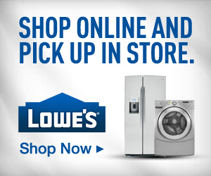 Lowe's: 10% Off Any Online Purchase **SUPER HOT**