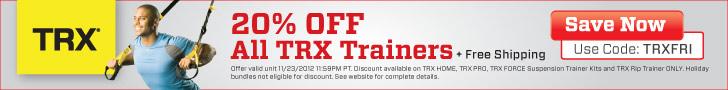 TRX Black Friday Sale