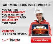 Verizon High Speed Internet Service