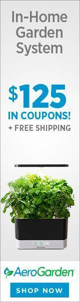 AeroGarden - In-Home Garden System - $125 in Coupons
