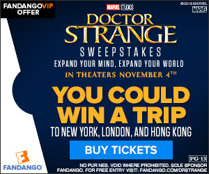 Fandango - Doctor Strange Movie Sweepstakes