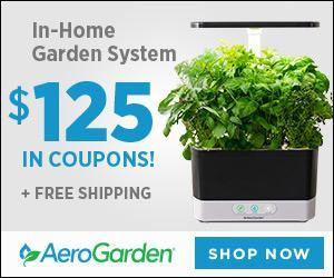 AeroGarden - In-Home Garden System - $125 in Coupons