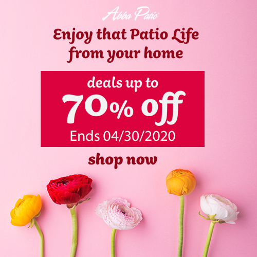 Enjoy That Patio Life From Your Home! Selected Items Up to 70% Off! Free Shipping & No Code Need! En