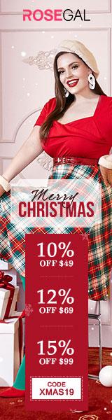 Save big at Rosegal Christams Big Sale! Enjoy up to 15% OFF.