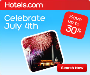 Celebrate July 4th! Save up to 30%! Book by 7/4, Travel by 7/10